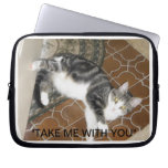 TAKE ME WITH YOU LAPTOP PROTECTIVE COVER.... LAPTOP SLEEVES