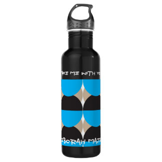 take me with you - Men's 24oz Water Bottle