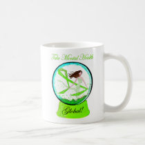 """Take Mental Health Global"" Diva Lime mug"