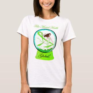 """""""Take Mental Health Global"""" Diva T-Shirts"""