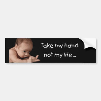 Take My Hand.... Bumper Sticker
