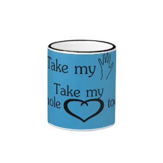 Take my hand mug