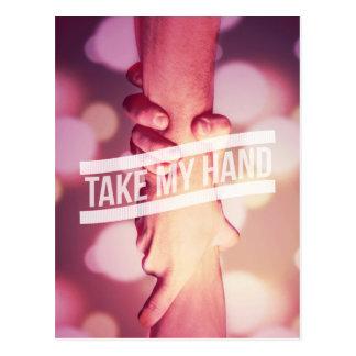 Take My Hand Postcard