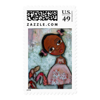 take my heart postage stamp