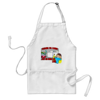 take my load adult apron