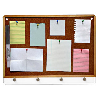Take Note Dry Erase Board With Keychain Holder