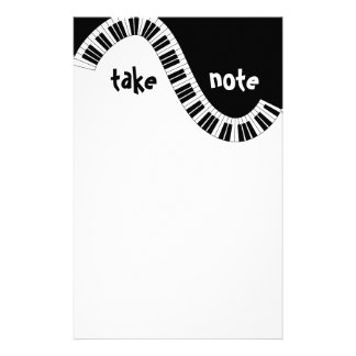 """Take Note"" Musical Stationery"
