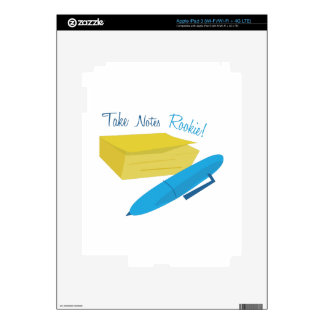 Take Notes iPad 3 Decal