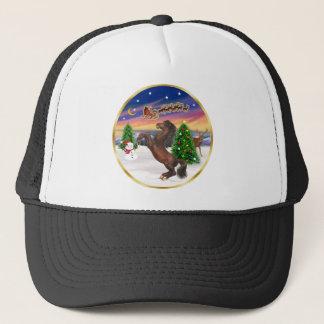 Take Off 2 - Brown Arabian Horse (rearing) Trucker Hat