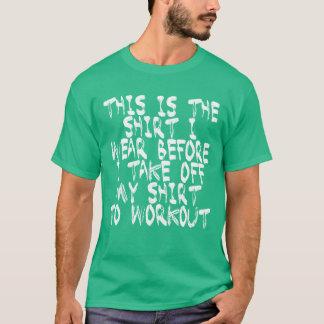 Take Off Shirt