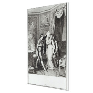 'Take off that veil', from Chapter 7 of Canvas Print