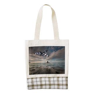 Take Off Zazzle HEART Tote Bag