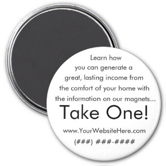 Take One! working from home magnet