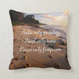 Take Only Pictures Throw Pillow