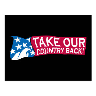 Take Our Country Back Postcard