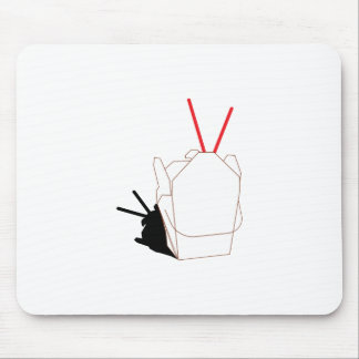 Take Out Container Mouse Pad