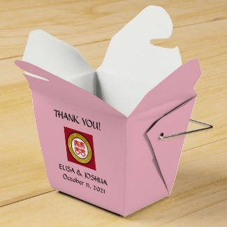 Take Out Favor Box