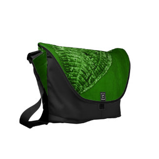 take out leaf courier bag