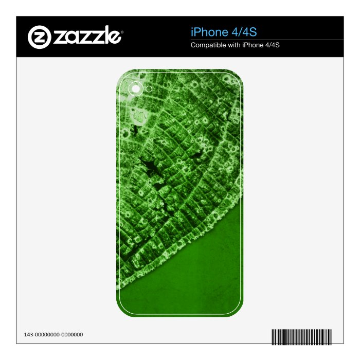 take out leaf iPhone 4S decal