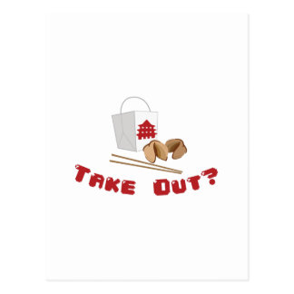 Take Out Postcard