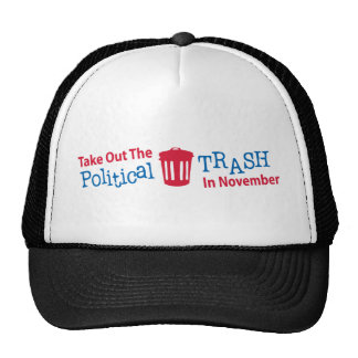 Take Out The Political Trash In Novemer Trucker Hat