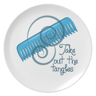 Take Out The Tangles Plates
