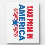 Take Pride In America Multi Pro Sel Photo Plaques
