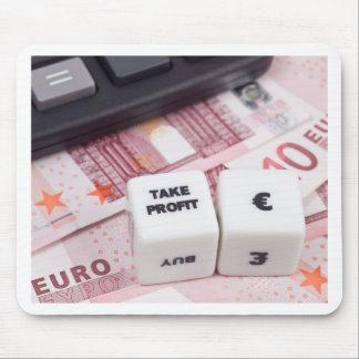Take profit Euro Mouse Pad