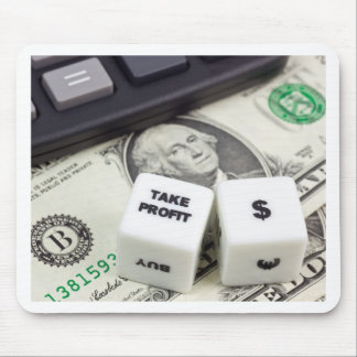 Take profit US dollar Mouse Pad