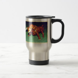 Take The Bull by the Horns 15 Oz Stainless Steel Travel Mug