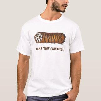 Take the Cannoli Italian Cannolis Pastry Tee
