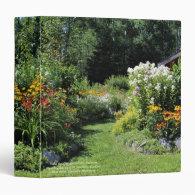 Take the Cottage Garden Pathway! 3 Ring Binder