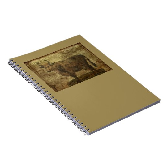 Take the Cow by the Horns Notebook