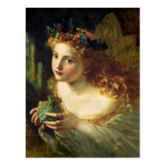 Take the Fair Face of Woman - Sophie Anderson Postcard