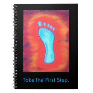 Take the First step notebook