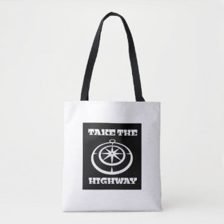 Take The Highway Tote Bag