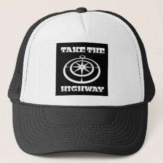 Take The Highway Trucker Hat
