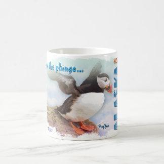 Take the Plunge Classic White Coffee Mug