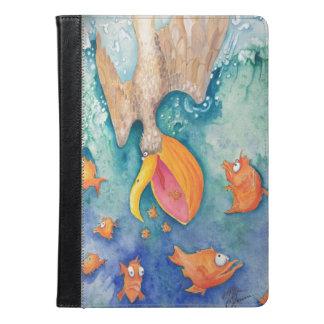"""Take the plunge!"" Pelican & Fish Art"