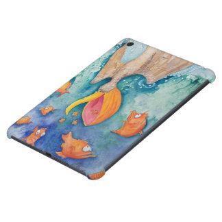 """Take the plunge!"" Pelican & Fish Art iPad Mini Cover"