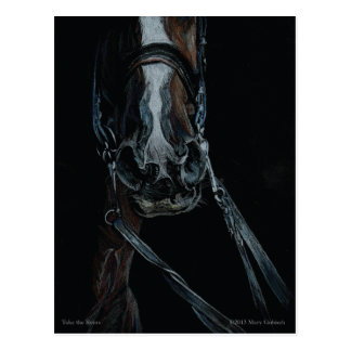 Take the Reins by Mary Gubisch Postcard