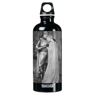 take the romance with you aluminum water bottle