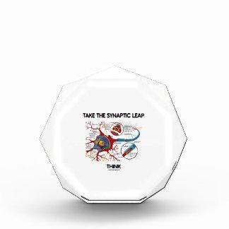 Take The Synaptic Leap Think (Neuron Synapse) Award