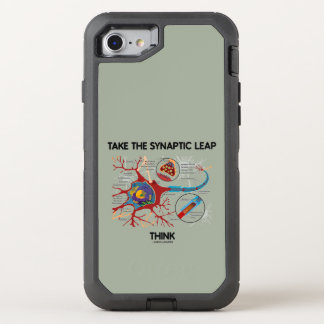 Take The Synaptic Leap Think Neuron Synapse OtterBox Defender iPhone 8/7 Case