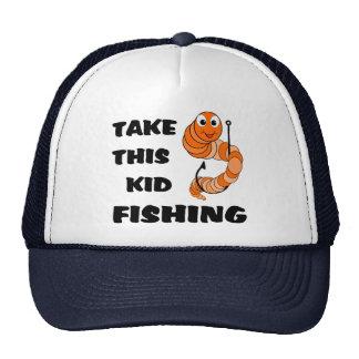 Take This Kid Fishing Trucker Hat