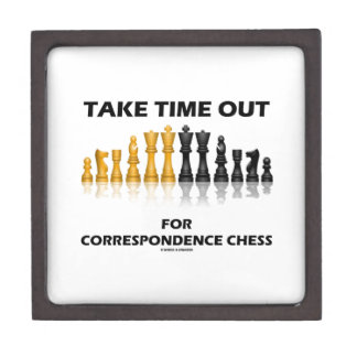 Take Time Out For Correspondence Chess Premium Gift Box