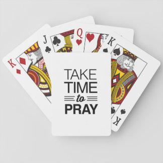 Take Time to Pray Card Decks