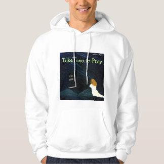 Take time to Pray mens hoodie
