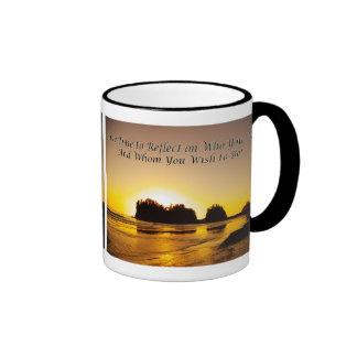 take time to reflect coffee mug