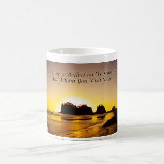 take time to reflect coffee mugs
